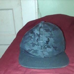bulls basketball hat fit-it